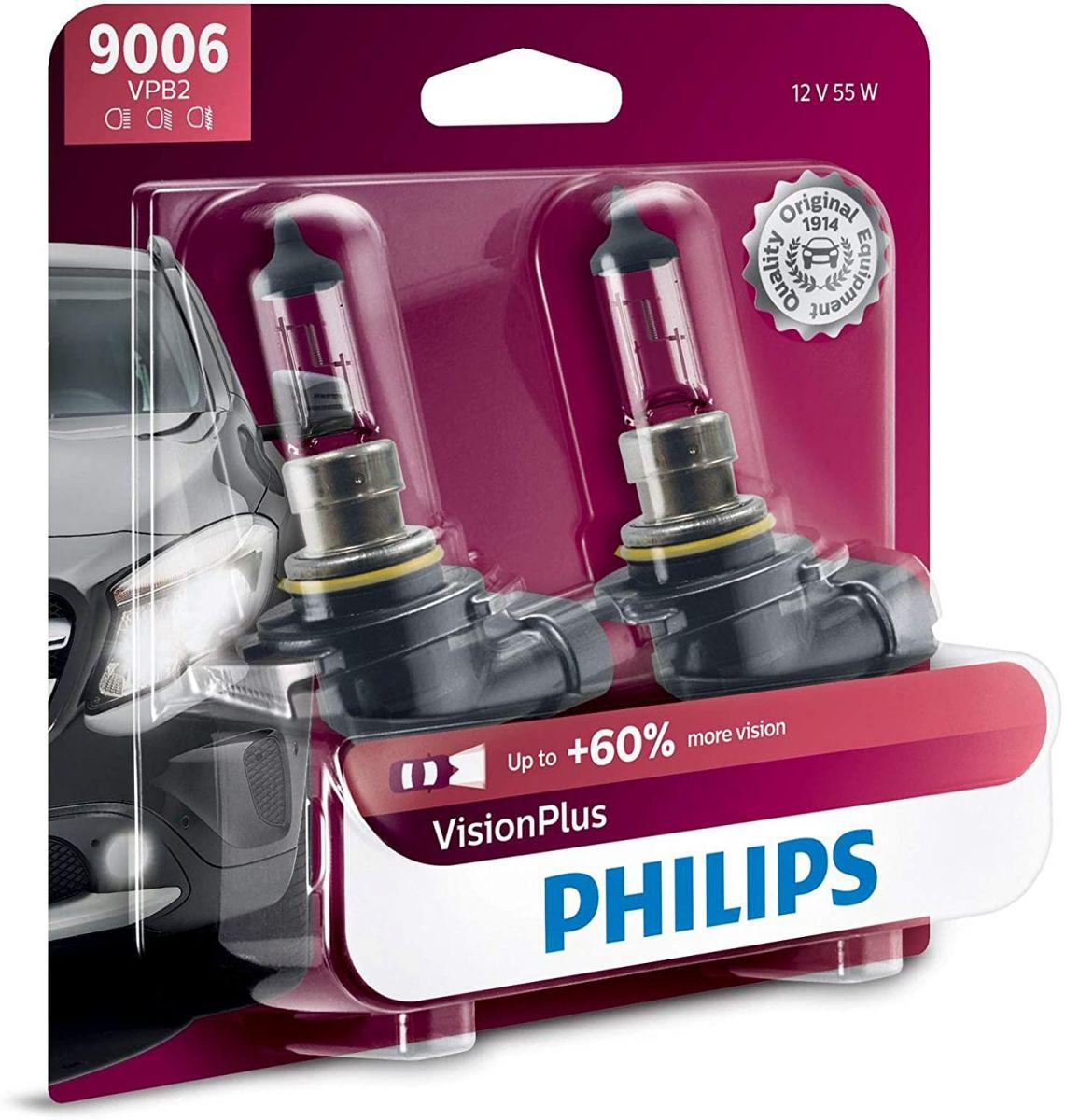 Philips Vision Plus HB4 Halogen Light Bulb
