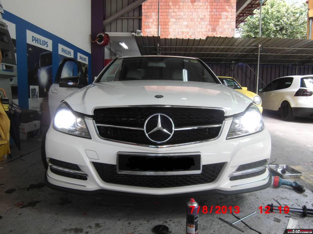 Mercedes Benz C Class Front Car Sport Grill