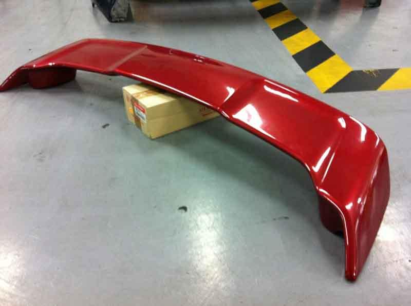 Rear Boot Spoiler Mitsubishi Lancer EX