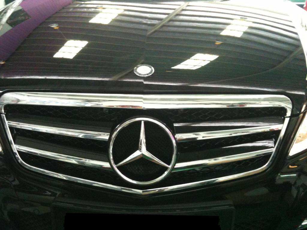 Mercedes E Class W-212 Car Front Sport Grill With Logo