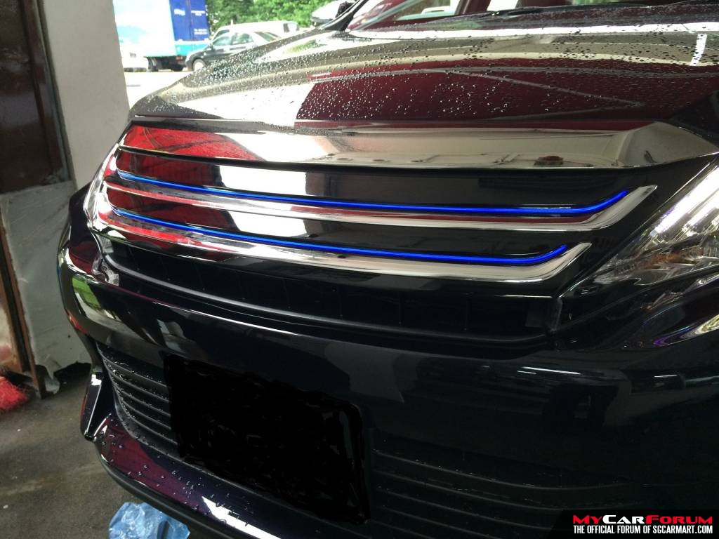 Front Grill (With Neon Light)