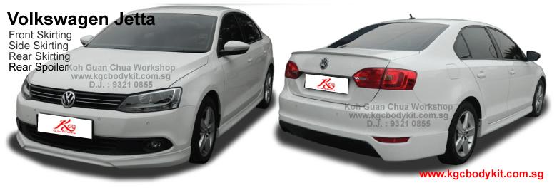Volkswagen Jetta / Passat / Polo Bodykit (4 Pcs)