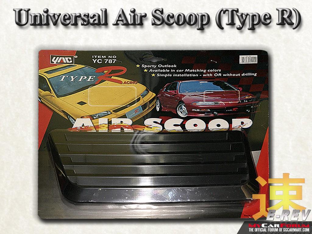 Type R Air Intake Scoop