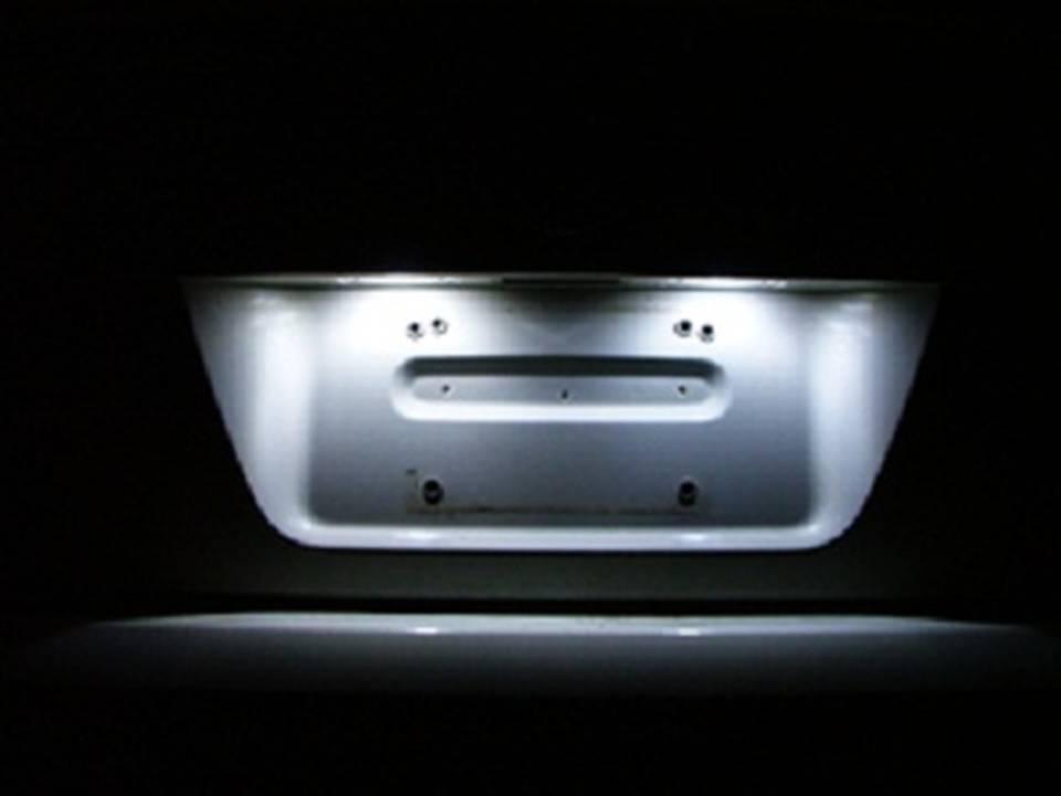 LED License Plate White Light Conversion