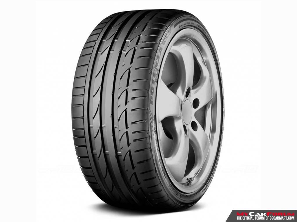 """Bridgestone Potenza S001 15"""" Tyre"""