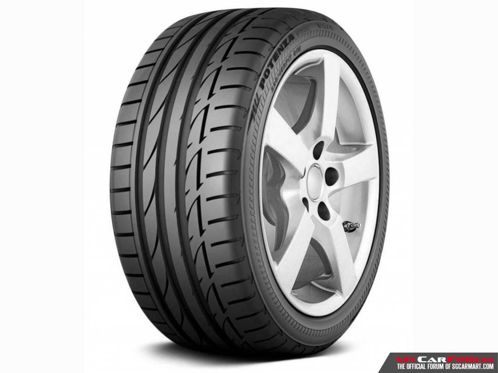 """Bridgestone Potenza S001 16"""" Tyre"""