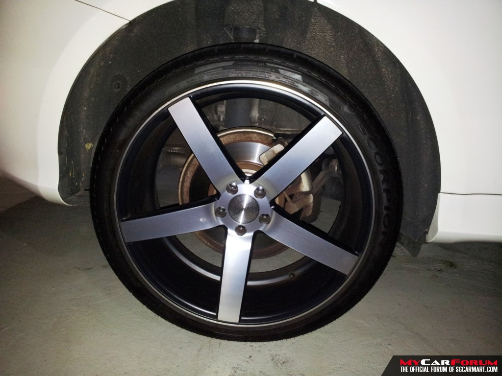 vossen cv3 22 rims with pirelli t for sale mcf marketplace. Black Bedroom Furniture Sets. Home Design Ideas