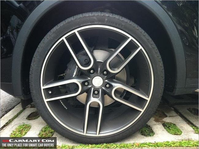 22 Quot Caractere Rims With Pirelli Sc For Sale Mcf