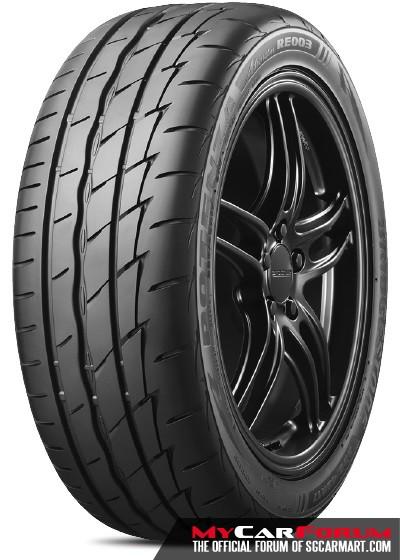 Bridgestone Potenza Adrenalin RE003 205/50/R16 Tyre