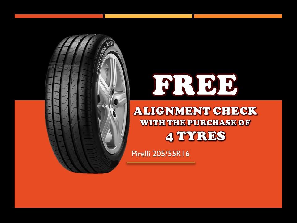Pirelli P7 205/55/R16 Tyre