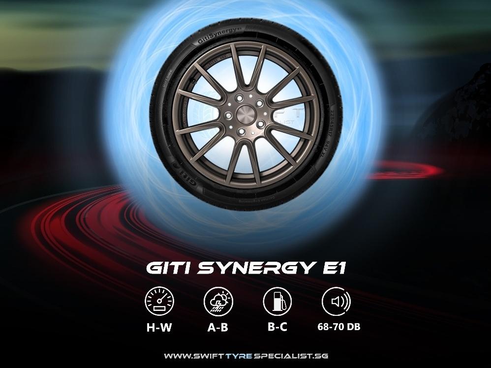 Giti Synergy E1 185/55/R15 Tyre