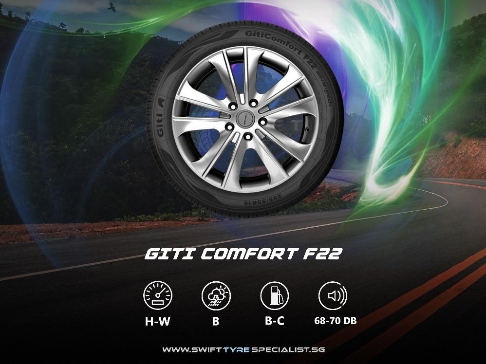Giti Comfort F22 205/60/R16 Tyre