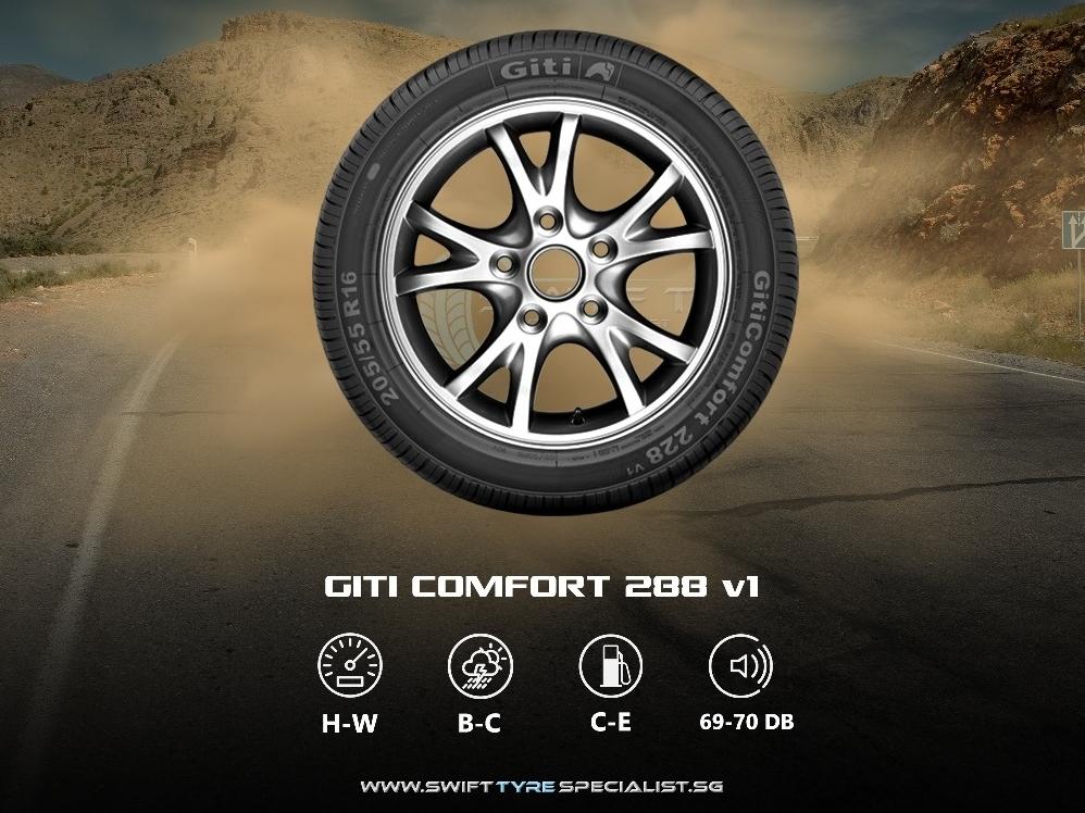 Giti Comfort 228v1 225/55/R16 Tyre