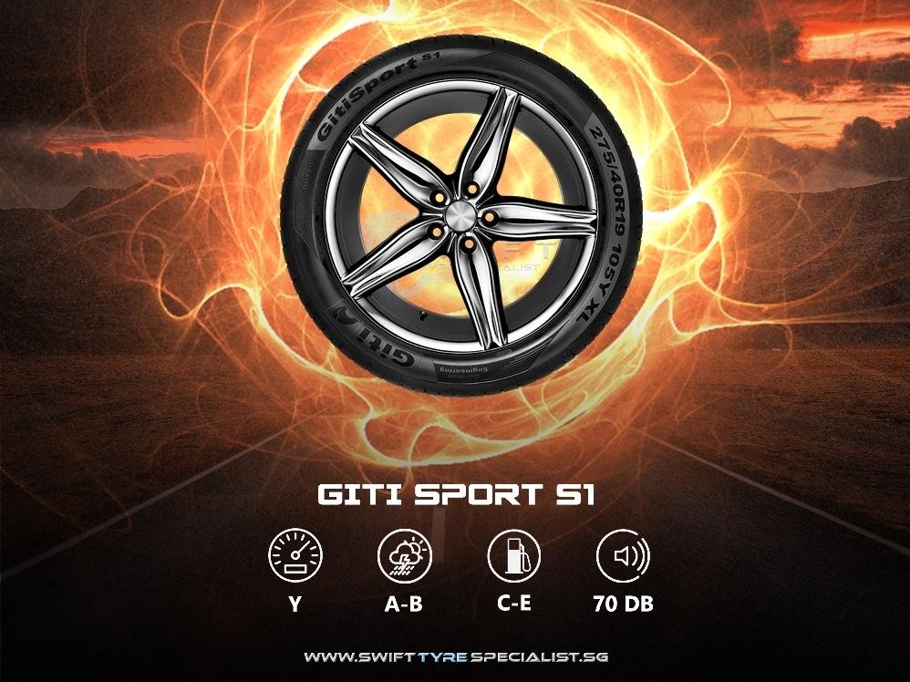 Giti Sport S1 215/45/R17 Tyre