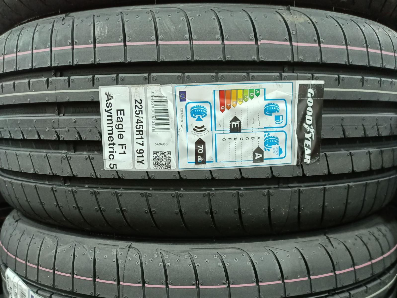 Goodyear Eagle F1 Asymmetric 5 225/45/R17 Tyre