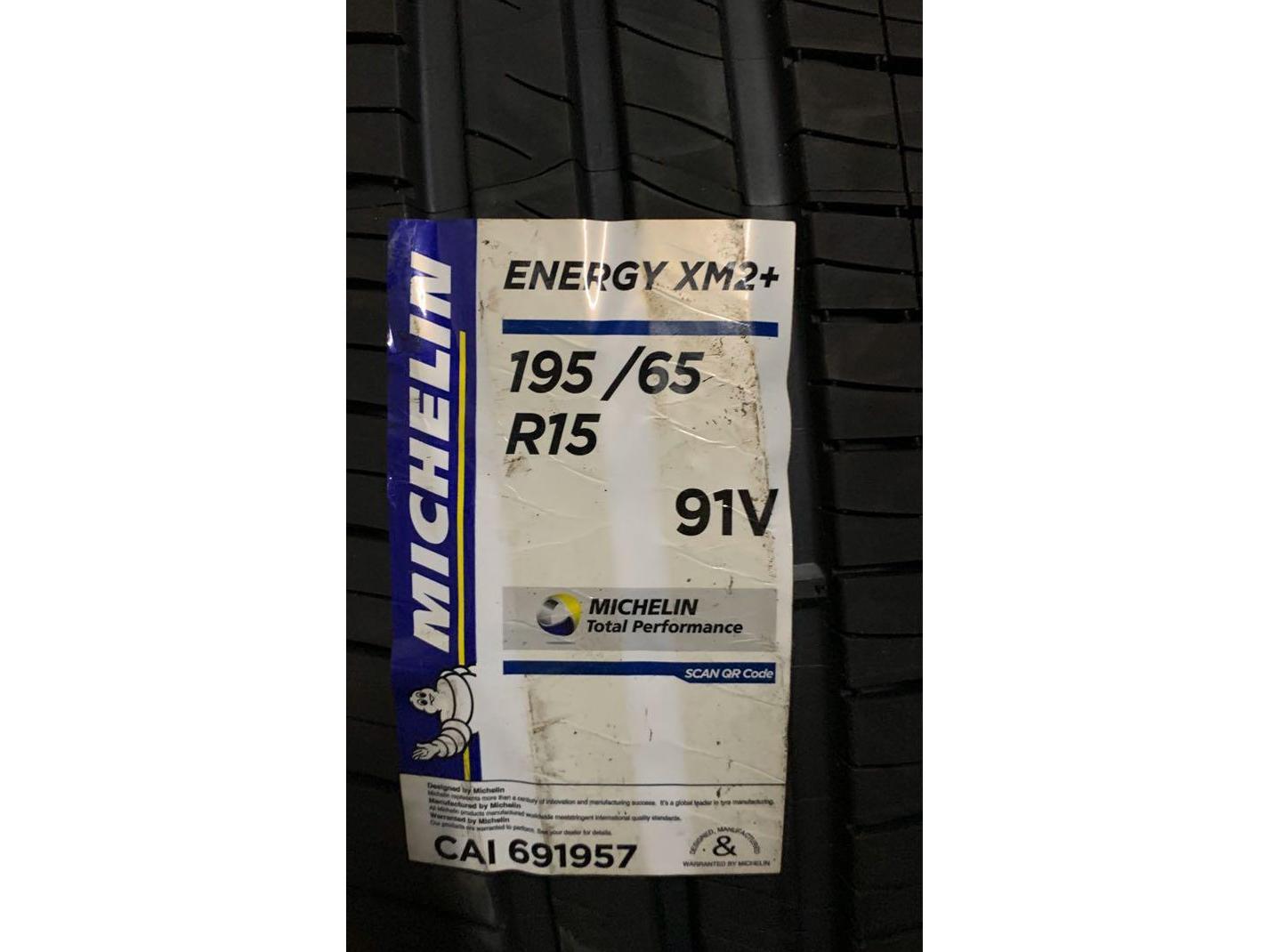Michelin Energy XM2+ 195/65/R15 Tyre