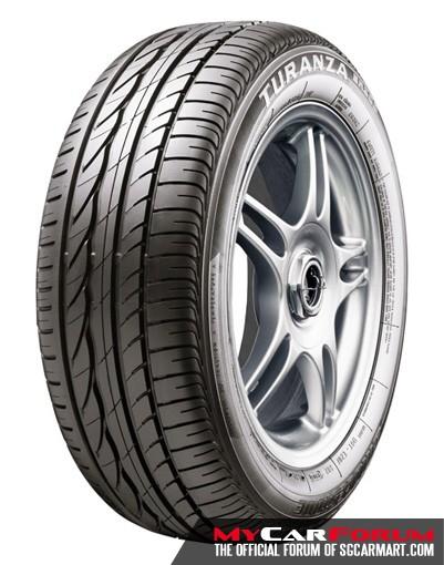 Bridgestone Turanza ER300 195/65/R15 Tyre