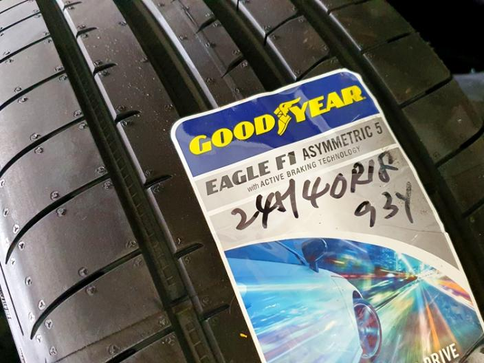 Better Performance With Goodyear Asymmetric 5