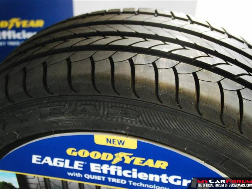 Goodyear Eagle EfficientGrip 205/55/R16 Tyres