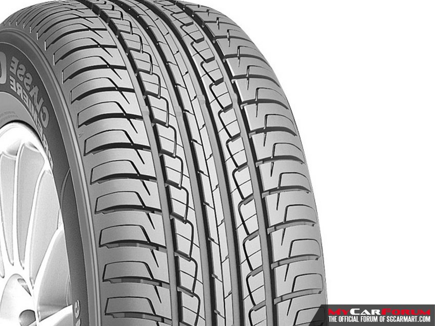 "Roadstone CP641 15"" Tyres"