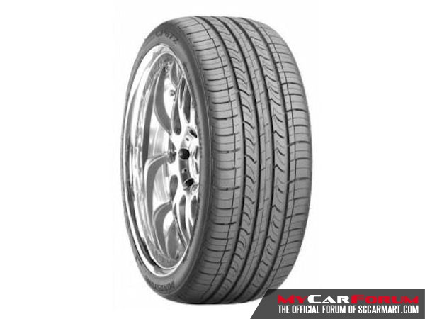 "Roadstone CP672 17"" Tyres"