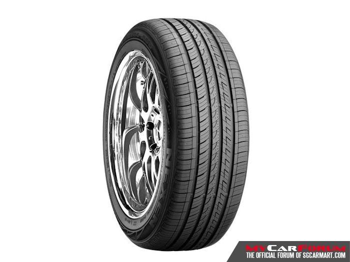 "Roadstone NFERA AU5 16"" Tyres"