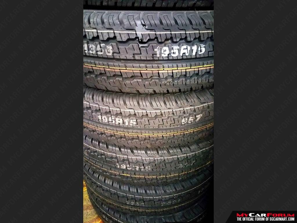 """Kumho Radial Light Truck 15"""" Tyres"""