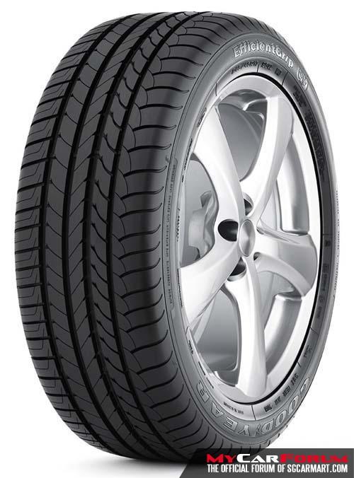 Goodyear Eagle EfficientGrip 225/50/R17 Tyre