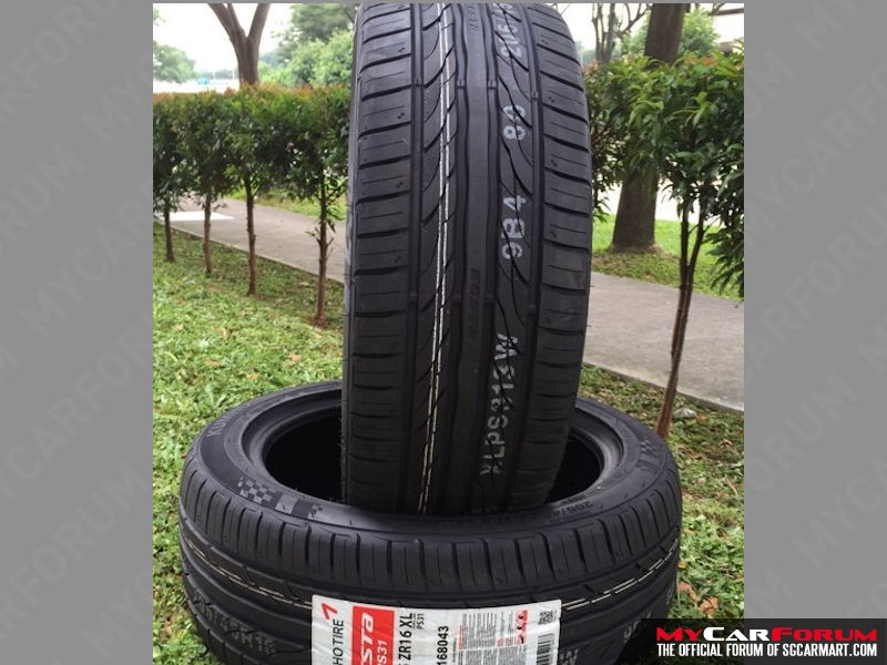 kumho ecsta ps31 17 tyre for sale sgcarstore. Black Bedroom Furniture Sets. Home Design Ideas