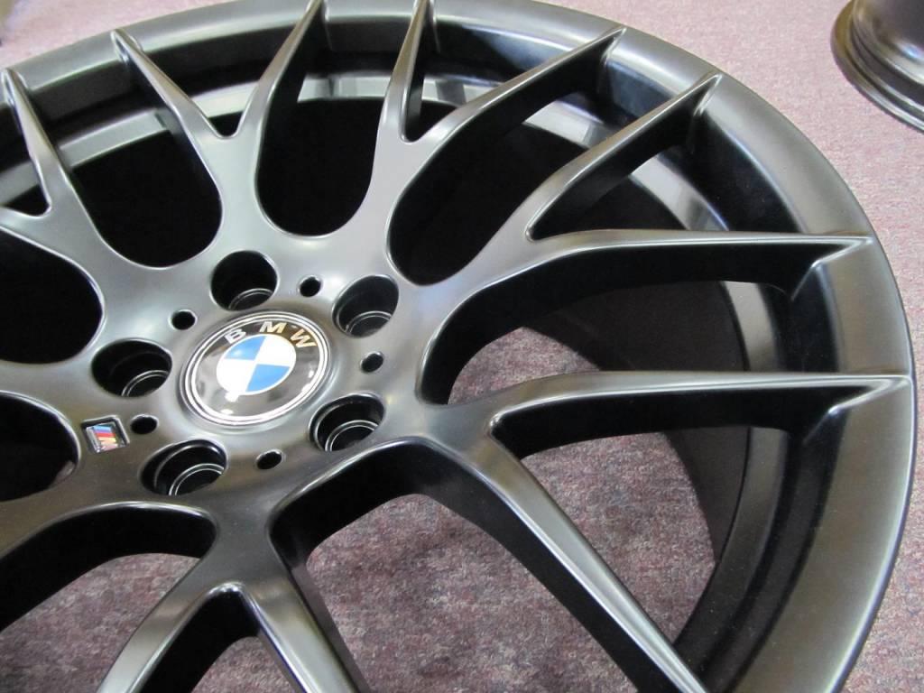 BMW Matt Black T-108 Concave Meshed 19