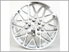 Rotiform BLQ Silver Machined Face Rims