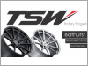 "TSW Bathurst 17"" Rims (With Tyres)"