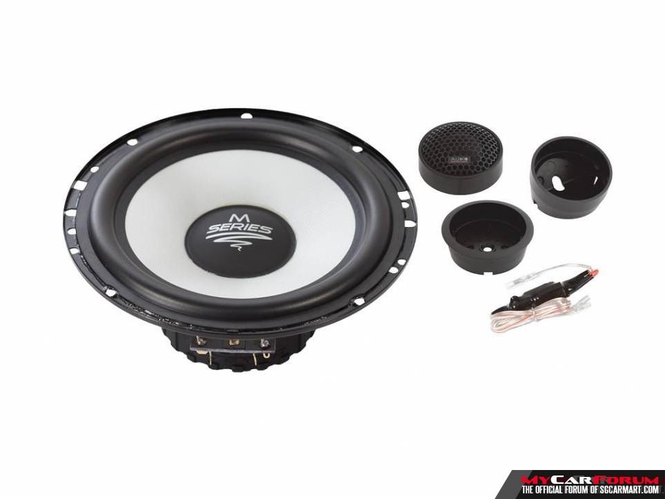 Audio System M165 EVO Component Speakers