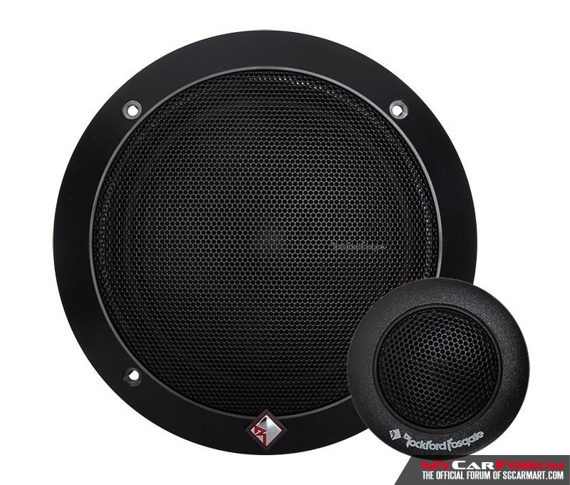 Rockford Fosgate Prime R1675-S Component Speakers