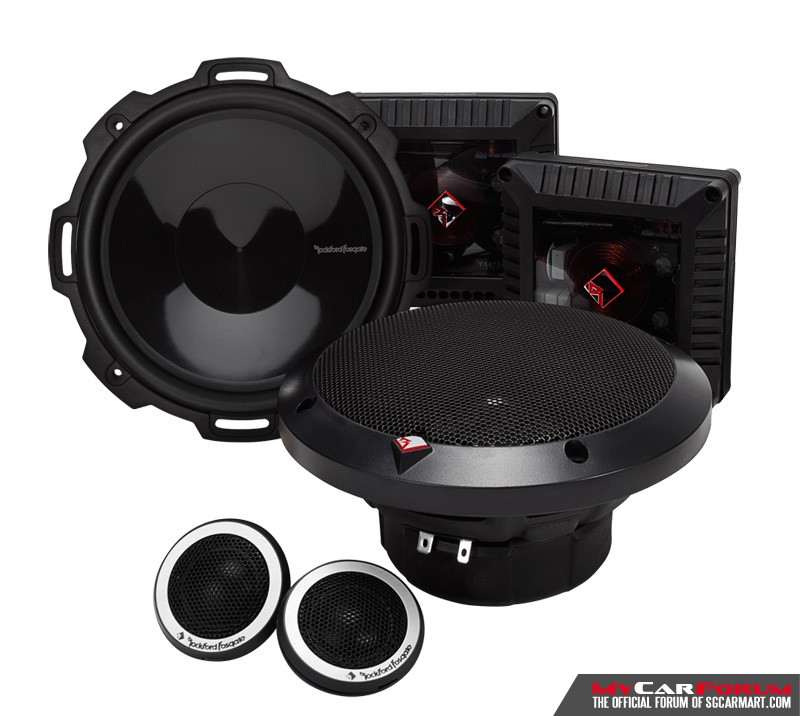 Rockford Fosgate Power T1675S Component Speakers