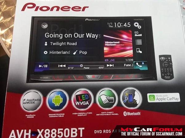 Pioneer AVH-X8850BT Multimedia Player
