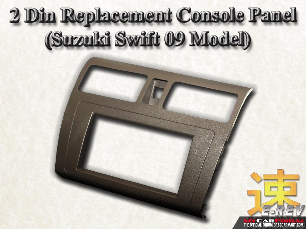 Suzuki Swift 2-Din Audio Console Panel  (With Ventilation)