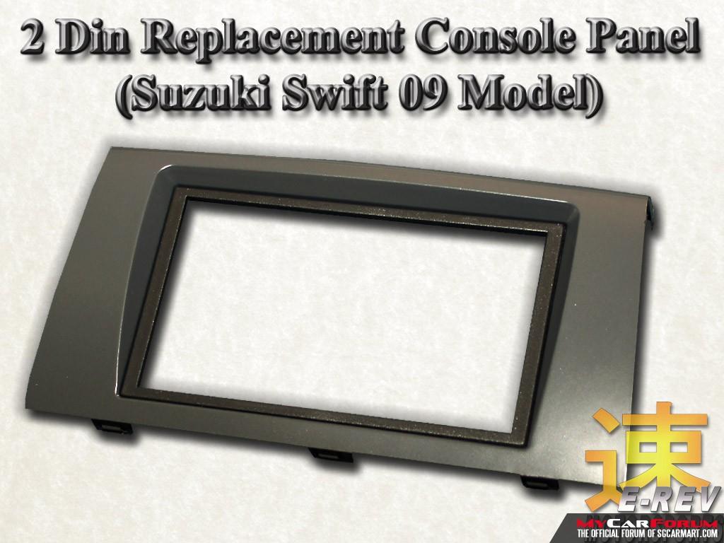 Suzuki Swift 2 Din Audio Console Panel