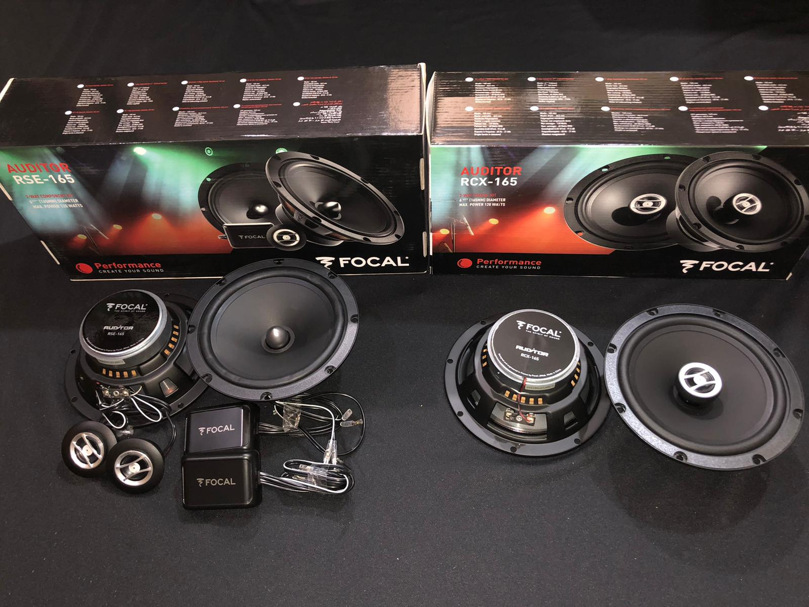 Focal Auditor Series RCX & RSE - 165 (Package B)