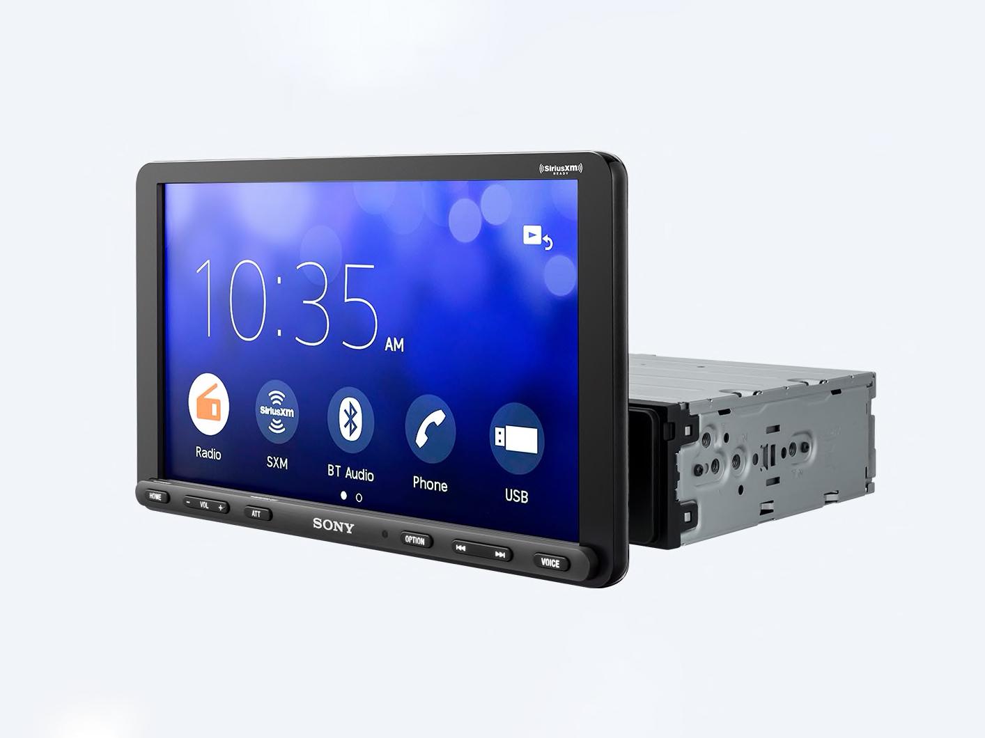 Sony XAV-AX8000 Android Auto & Apple CarPlay Multimedia Player (With Anti Glare Display)