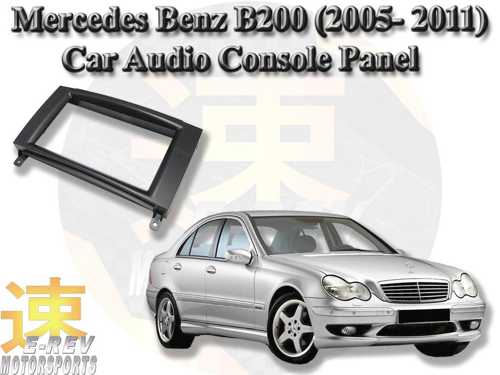 Mercedes Benz W203 2 Din Audio Console Panel