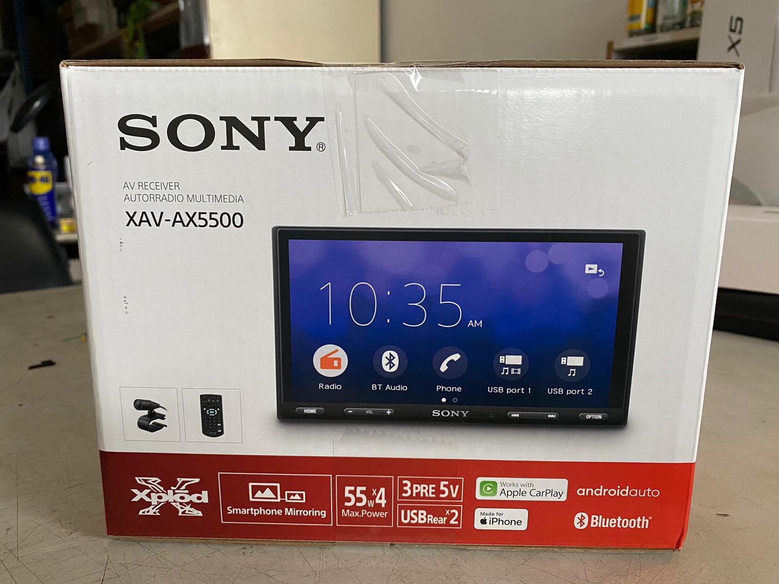 Sony XAV-AX5500 6.95
