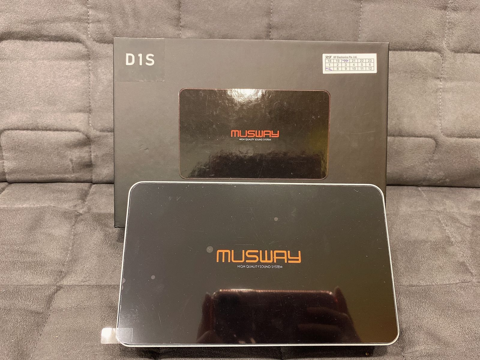 Musway 4CH Class AB Amp w/ 4CH DSP @ $480