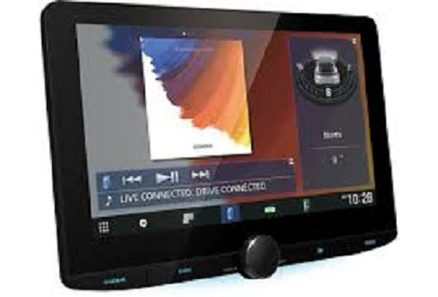 "Kenwood DMX9720XDS 2-DIN 10.1"" HD Display Multimedia Player"