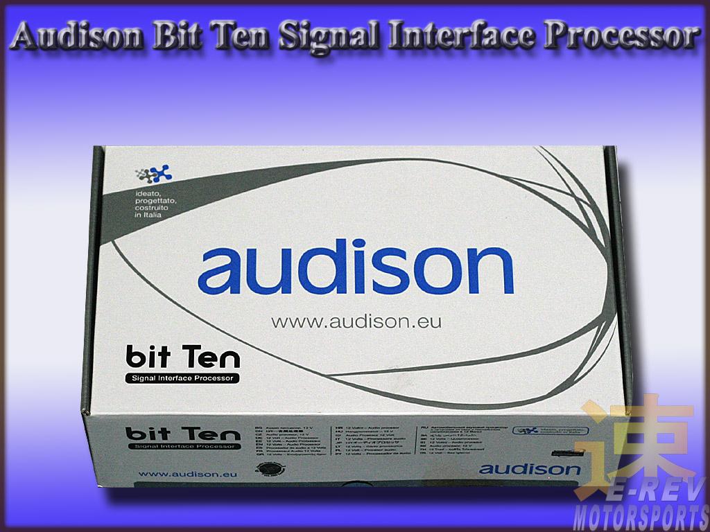 Audison Bit Ten Processor