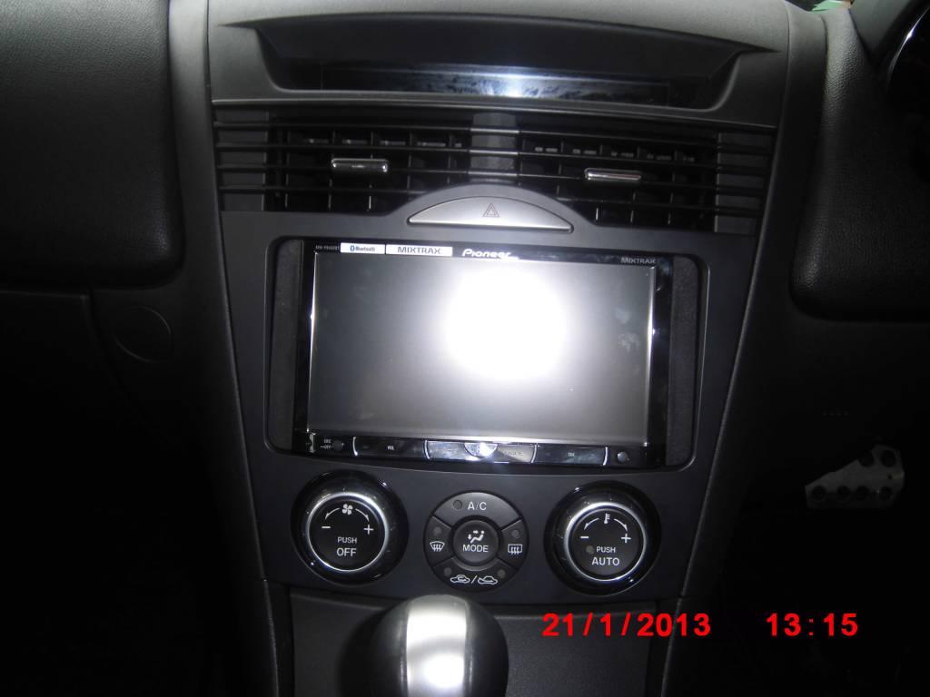 Mazda RX8 Interior Audio Console Panel