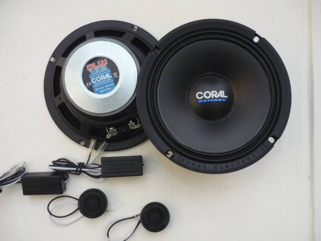 Coral Dlk 165 Coaxial Speakers For Sale Mcf Marketplace