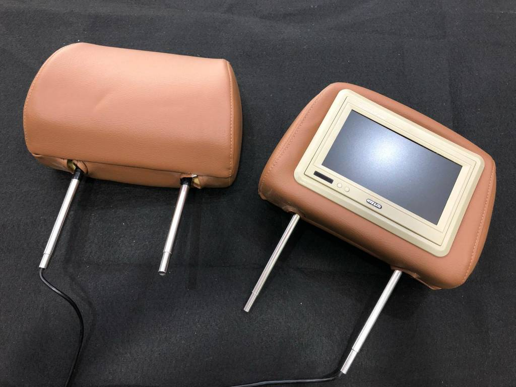 "TFT 7"" LCD Headrest Monitor"