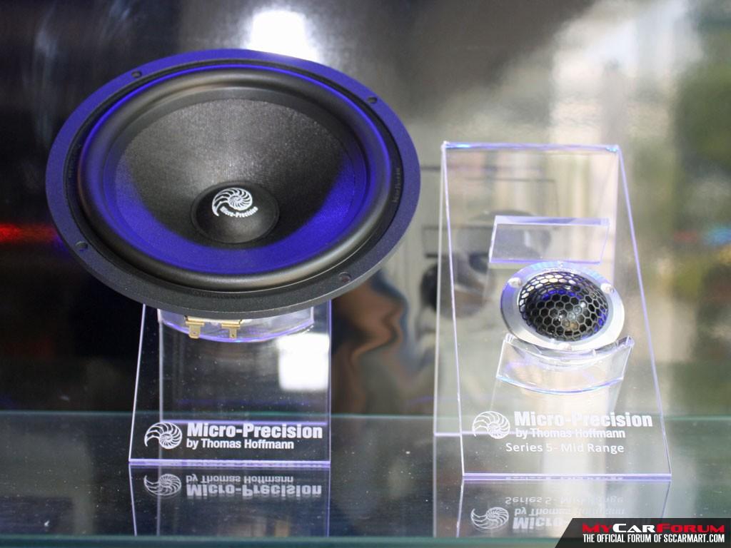 Micro Precision 3 Series Component Speakers (2-Way Passive)