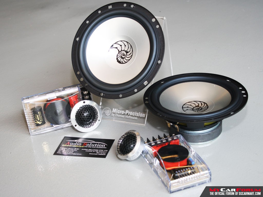 Micro Precision 5 Series 2-Way Component Speakers